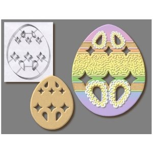 Easter Egg Cookie Cutter 7 1 / 2 Inch