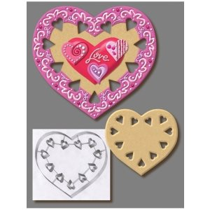 Heart Cookie Cutter 7 1 / 2 Inch