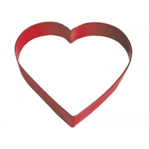 Heart Cookie Cutter Poly Resin 5 Inch