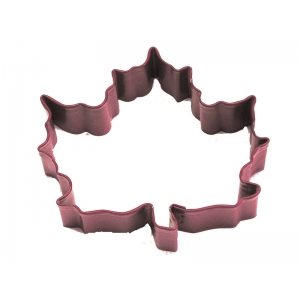 Maple Leaf Cookie Cutter Poly Resin 3 Inch