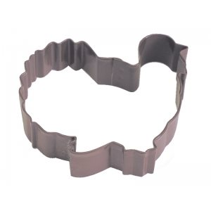 Gobbler Turkey Cookie Cutter Poly Resin 3 Inch