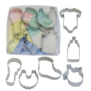 Baby Cookie Cutter Set 6 Pcs.