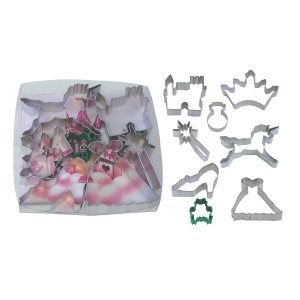 Princess Cookie Cutter Set 8 Pcs.