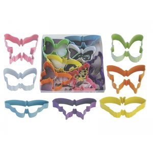 Butterfly Cookie Cutter Set Poly Resin 7 Pcs.