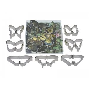 Butterfly Cookie Cutter Set 7 Pcs.