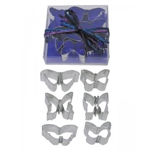 Mini Butterfly Cookie Cutter Set 6 Pcs.