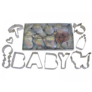 Baby Cookie Cutter Set 10 Pcs.