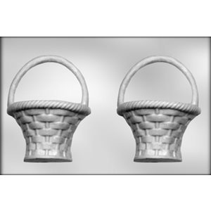 3D Basket Chocolate Candy Mold 7 1 / 2 Inch