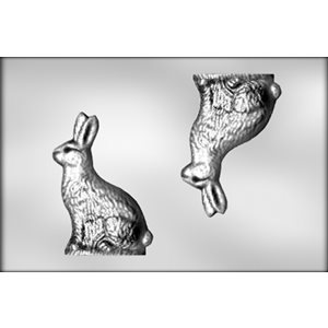 3D Bunny Chocolate Candy Mold- 8 Inch