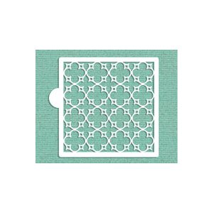 Parisian Lattice Allover Cookie Stencil