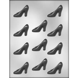 High Heel Shoe Chocolate Candy Mold 2 1 / 4 Inch