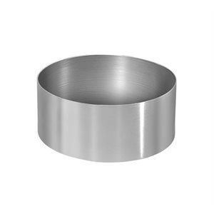 Round Cake Ring Stainless Steel 3 x 2 Inch