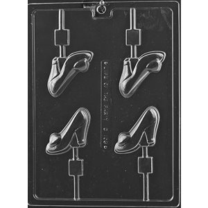 High Heel Shoe Lollipop Chocolate Candy Mold