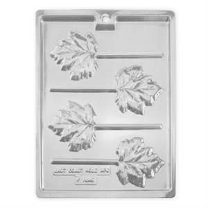 Maple leaf Lollipop Chocolate Candy Mold