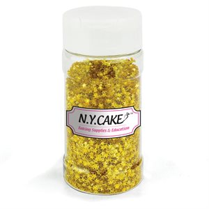 Edible Glitter Gold Stars  - 20 Grams