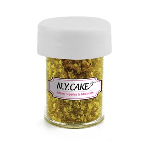 Edible Glitter Gold Stars  - 4.5 Grams