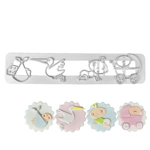 Adorable Baby Cutter Set By FMM