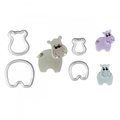Hippo Cutter Set By FMM