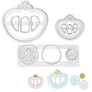Princess Carriage Cutter Set By FMM