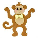Mommy & Baby Monkey Cutter Set By FMM