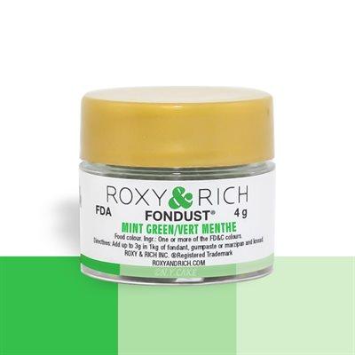 Mint Green Fondust Food Coloring By Roxy Rich 4 gram