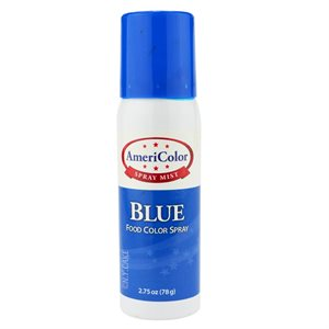 Blue Food Color Spray 2.75 Ounce By Americolor