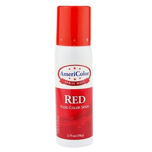 Red Food Color Spray 2.75 Ounce By Americolor