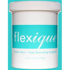 Flexique Edible Fabric Cake Decorating Compound