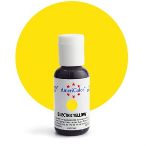 Electric Yellow Gel Paste .75 ounce By Americolor