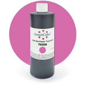 Fuchsia Gel Paste 13.5  ounces By Americolor