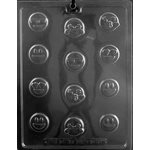 Emojis Bite Size Chocolate Candy Mold