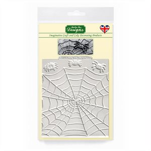 Spiders & Web Silicone Mold By Katy Sue