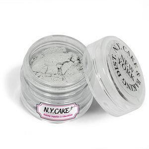 Nu Silver Luster Dust 2 grams