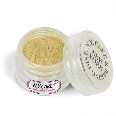 Pale Gold Luster Dust 2 Grams