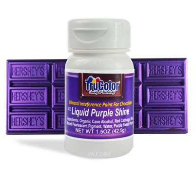 Purple Liquid Shine Natural Food Color By TruColor 1.5 Ounce
