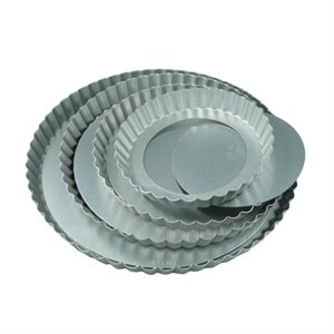 10 3 / 4 Inch Tart Pan with Removeable Bottom