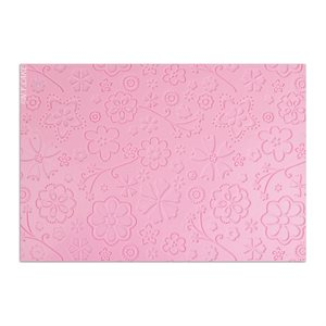 Floral Design Impression Mats--Small