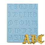 Old English Alphabet Letters Silicone Mold