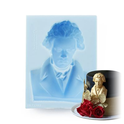 Beethoven Bust Silicone Mold