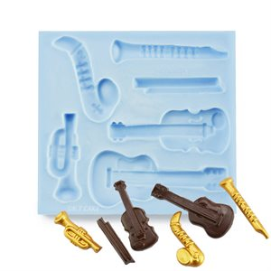 Music Instruments Silicone Mold