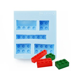 Small Building Blocks Silicone Mold