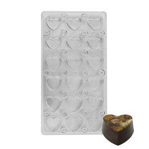 Heart Magnetic Chocolate Mold