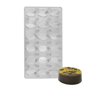 Oval Magnetic Chocolate Mold