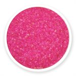 Hot Pink Natural Coarse Sugar Crystals