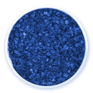 Royal Blue Natural Coarse Sugar Crystals