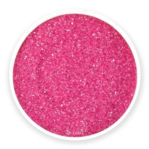Hot Pink Natural Sanding Sugar 8 Ounces