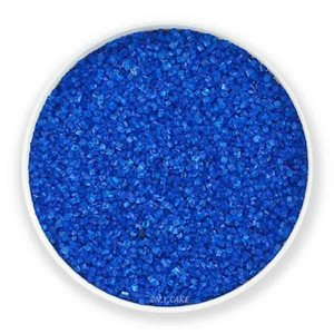 Royal Blue Natural Sanding Sugar 8 Ounces