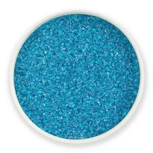 Sky Blue Natural Sanding Sugar 8 Ounces