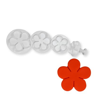 Blossom Rose Plunger Cutter