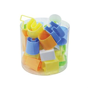 Colorful Alphabet Cutter Set